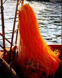 Orange Fishing-net