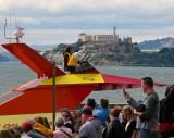 The Life @ Fisherman's Wharf  : Alcatraz ,People and Boats
