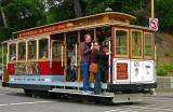 Powell - Hyde  Cable Car, let's go-go-go!!