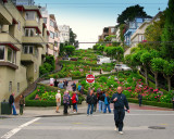 Coloured Lombard St.  (Do not enter...)