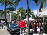 People and nice cars @ Rodeo Drive, Beverly Hills