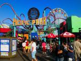 Funny day @ the Pacific ParK, Santa Monica Pier, Los Angeles CA