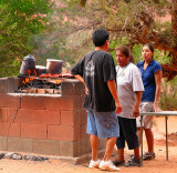Navajo BBQ @ Monument Valley