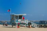 The lifeguard @ Venice Beach, Los Angeles, CA