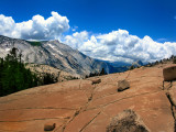 On the road to Tioga Pass, California, United States