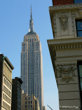 The Empire State Bldg seen from Madison Square Park