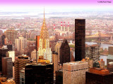 The Chrysler Building seen from the Empire State Bldg