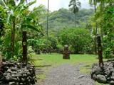 P656 Arahurahu Marae (22km past Papeete)