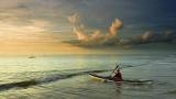 Kayak at Dawn II