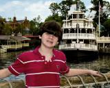 Spencer at Disney World