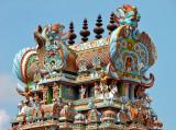 Detail of the right Gopuram
