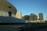 Hoteles y Louisiana Superdome