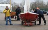 Régate des dériveurs anciens de Vaires sur Marne, 28 mars 2010