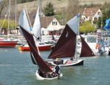 La Gazelle des Sables et le Lascar du Toul'Ru au Club nautique de Dreux