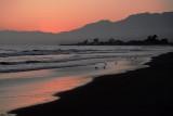 Coastal Red Sky
