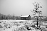 Abner Hollow Cabin Winter