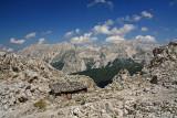 Alps north of Innsbruck