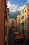 Innsbruck from my hostel window