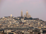 Sacre Coeur and Montmartre