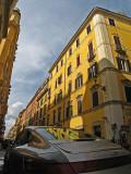 German car, Italian street