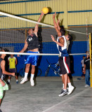 Volleyball in San Juan del Sur Civic Center