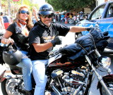 Here Come The Harleys