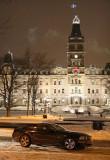Canada, Quebec - Night & Mustang