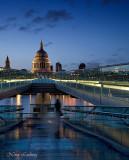 The Millenium Bridge Ghost