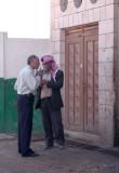 Two Men Speaking