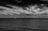 Sailing on the bay by Dennis