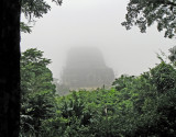 temple in the mist, Tikal