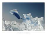 Ice drifting at Gaast