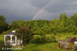 Double Rainbow from My Deck