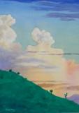 Tapichilaca Sunset (11x14)