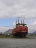 Gounded fishing boat, Annalong