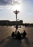 Tiananmen Square Beijing China – Apr 2009
