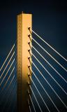 Tacoma bridge tower