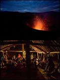 beneath Yasur volcano