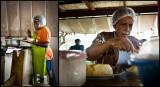 Cuisines au marché de Port Vila