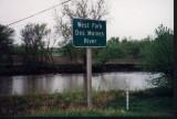 West Fork sign-Emmetsburg