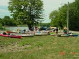 Canoe Van Buren boats at Bonaparte