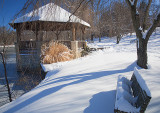 The Gazebo After A Snow