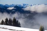 Morning Clouds Below Hurricane Ridge