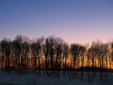 A Winter Sunset-Blacksburg