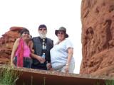 joy, Jim, & Sueat Chapel of the Holy CrossSedona, AZ