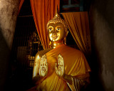 Buddha image in the gesture of Calming the Oceans