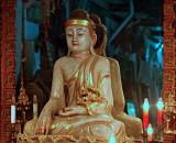 Main Buddha image, Wat Gate Museum