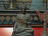 Small bronze Buddha image, Wat Gate Museum