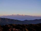 Sunrise on the Himalayas