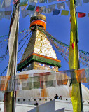 Bodhnath stupa from another angle